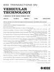 IEEE Transactions on Vehicular Technology: Volume 65, Number 6