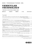 IEEE Transactions on Vehicular Technology: Volume 66, Number 3