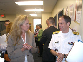 Dr. Victoria Rogers and Acting US Surgeon General discuss healthy weight initiatives in the Portland area