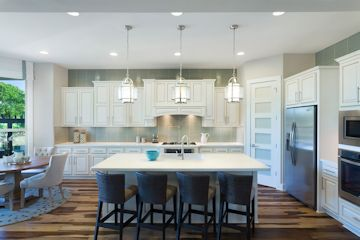 Kitchen lighting: recessed, pendant, and above and below cabinets
